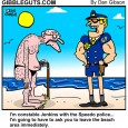 speedo cartoon