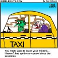 Out of control seniors cartoon