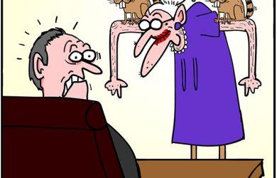 reality TV cartoon