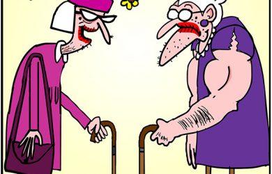 steroid cartoon