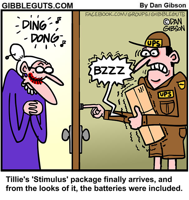 stimulus package comic