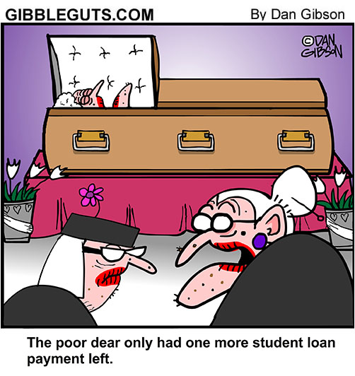 student loan cartoon
