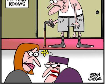 capri pants cartoon