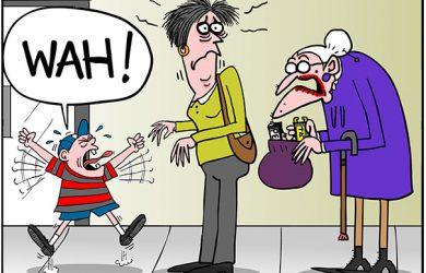 tantrum cartoon