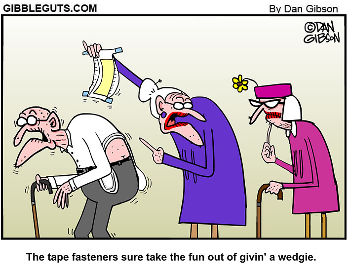 wedgie cartoon