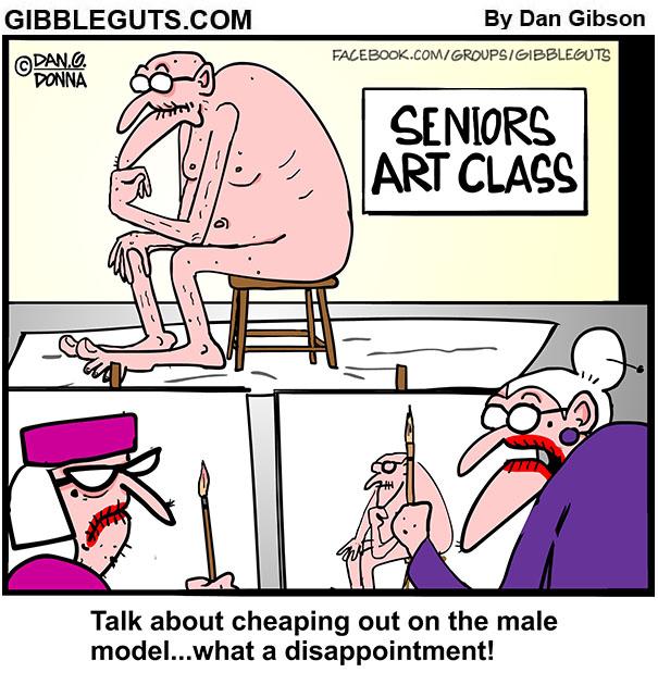 the thinker cartoon
