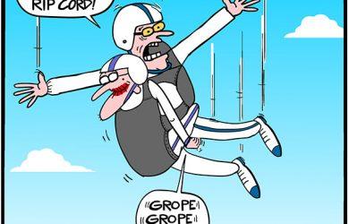 tillie skydiving