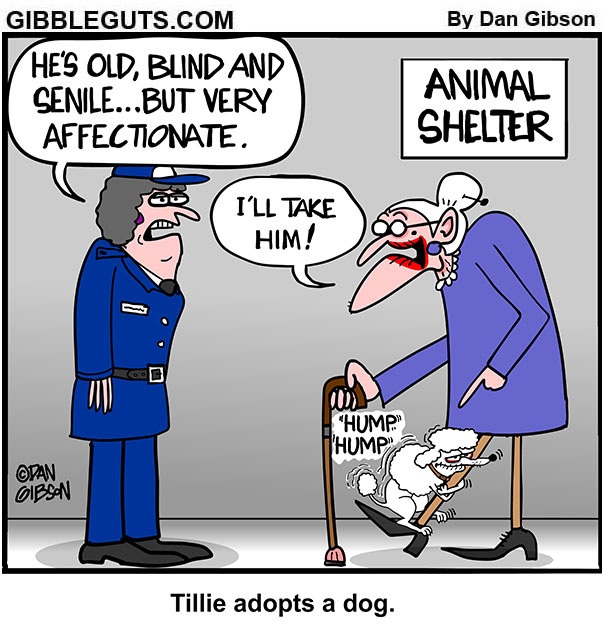 rescue dog cartoon