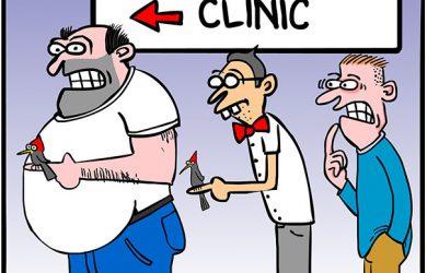 pecker cartoon