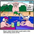 herb goes fishing cartoon
