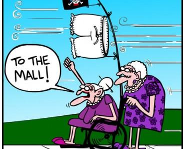 Old lady cartoon