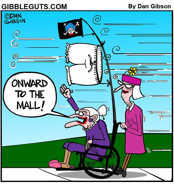 mall cartoon
