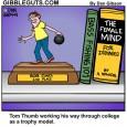tom thumb bowling cartoon
