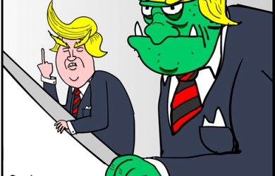 donald trump cartoon