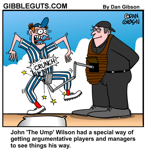 umpire cartoon