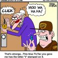 blue tic tacs cartoon