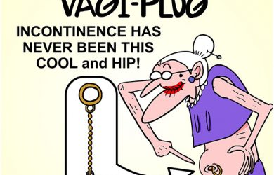 incontinence cartoon