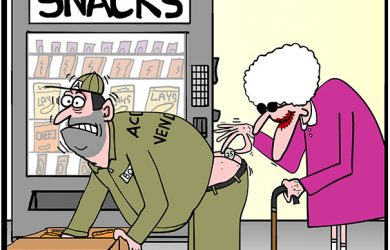 vending machine cartoon