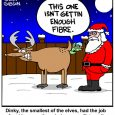 reindeer elves cartoon