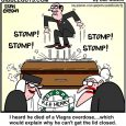 funeral cartoon