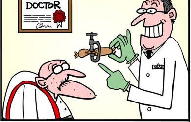male incontinence cartoon