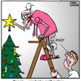 granny christmas cartoon