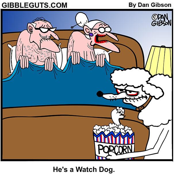 tillie's watchdog cartoon