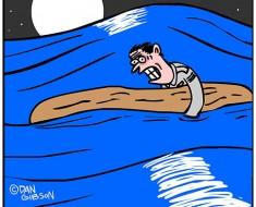 shot down cartoon