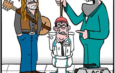 willie nelson cartoon