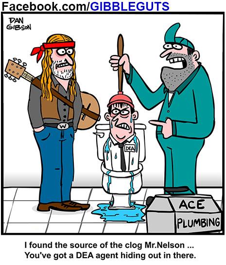 willie nelson cartoon