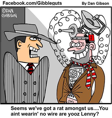 gangster cartoon