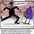 attack dog cartoon