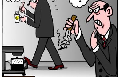 back stabbing cartoon