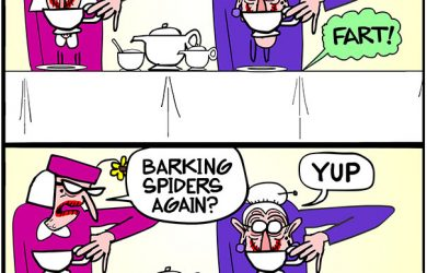 old lady farts