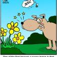 bee dog cartoon