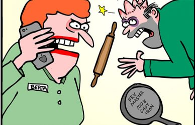 sick day cartoon