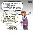 blue testicles
