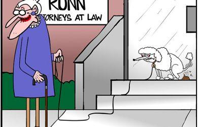 lawyer office cartoon