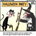 halloween broom cartoon