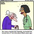 bucket list cartoon