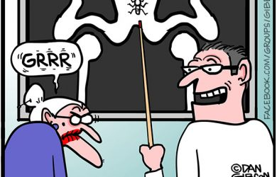 irritable tillie cartoon