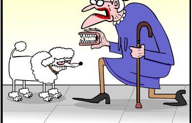 Jehovah's Witnesse cartoon