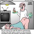 colonoscopy cartoon