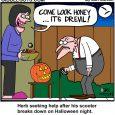 halloween dr.evil cartoon