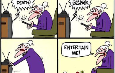pandemic cartoon