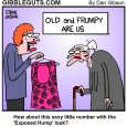 old lady hump cartoon