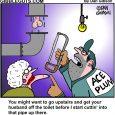 plumbing cartoon