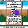 grandmother cartoon