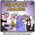 grammy awards cartoon