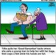 good samaritan cartoon